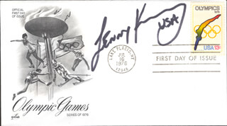 LENNY KRAYZELBURG - FIRST DAY COVER SIGNED