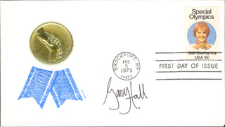 GARY HALL JR. - FIRST DAY COVER SIGNED