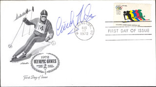 CINDY NELSON - FIRST DAY COVER SIGNED