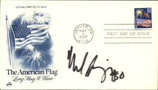 MIKE SINGLETARY - FIRST DAY COVER SIGNED