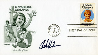 PETER VIDMAR - FIRST DAY COVER SIGNED