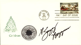 SUZY BOGGUSS - FIRST DAY COVER SIGNED