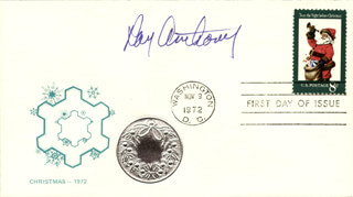 RAY ANTHONY - FIRST DAY COVER SIGNED