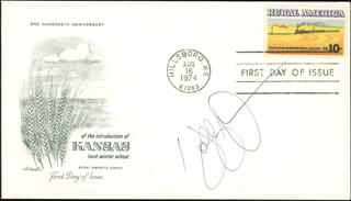 HOLLY DUNN - FIRST DAY COVER SIGNED