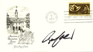 BRUCE KULICK - FIRST DAY COVER SIGNED
