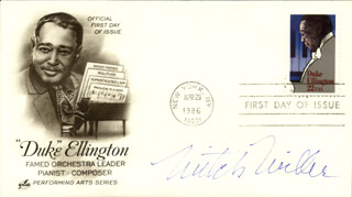 MITCH MILLER - FIRST DAY COVER SIGNED