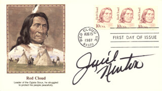 JUICE NEWTON - FIRST DAY COVER SIGNED