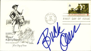 BUCK OWENS - FIRST DAY COVER SIGNED