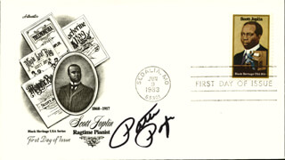 PATTI PAGE - FIRST DAY COVER SIGNED