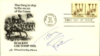 TOMMY ROE - FIRST DAY COVER SIGNED