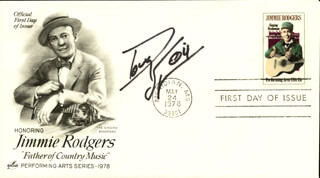DOUG SUPERNAW - FIRST DAY COVER SIGNED
