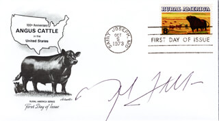 MEL TILLIS - FIRST DAY COVER SIGNED