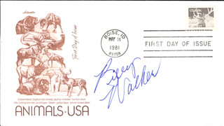 BILLY WALKER - FIRST DAY COVER SIGNED