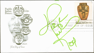 TANYA TUCKER - FIRST DAY COVER SIGNED 2004
