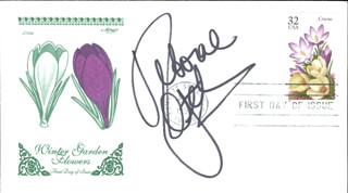 DEBORAH DEBBIE GIBSON - FIRST DAY COVER SIGNED
