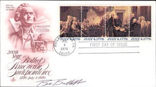 GOVERNOR BRUCE E. BABBITT - FIRST DAY COVER SIGNED
