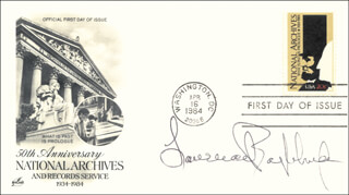 Autographs: LAWRENCE EAGLEBURGER - FIRST DAY COVER SIGNED