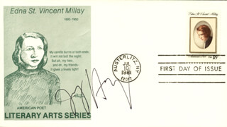 JOY HARJO - FIRST DAY COVER SIGNED