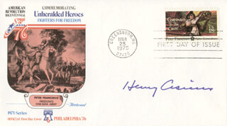 HENRY CISNEROS - FIRST DAY COVER SIGNED