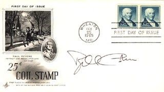 Autographs: WILLIAM COHEN - FIRST DAY COVER SIGNED
