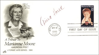TINA HOWE - FIRST DAY COVER SIGNED
