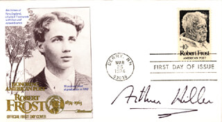 ARTHUR HILLER - FIRST DAY COVER SIGNED