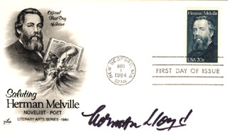 NORMAN LLOYD - FIRST DAY COVER SIGNED