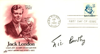 ERIC BENTLEY - FIRST DAY COVER SIGNED