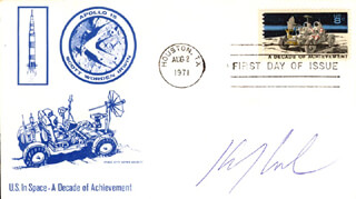 KEVIN J. ANDERSON - FIRST DAY COVER SIGNED
