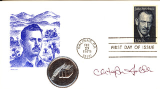 CHRISTOPHER GOLDEN - FIRST DAY COVER SIGNED
