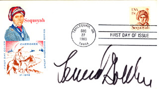 LEONARD J. GOLDBERG - FIRST DAY COVER SIGNED