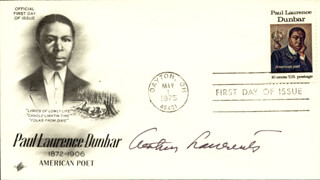 ARTHUR LAURENTS - FIRST DAY COVER SIGNED