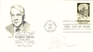 ROBERT B. PARKER - FIRST DAY COVER SIGNED
