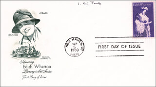 E. ANNIE PROULX - FIRST DAY COVER SIGNED