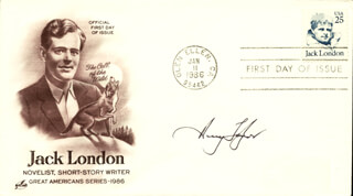 HENRY TAYLOR - FIRST DAY COVER SIGNED