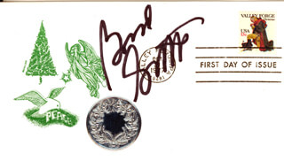 BRAD GARRETT - FIRST DAY COVER SIGNED