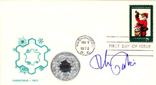 DICK GAUTIER - FIRST DAY COVER SIGNED