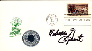 REBECCA GAYHEART - FIRST DAY COVER SIGNED