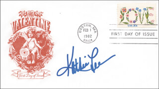 KATHIE LEE GIFFORD - FIRST DAY COVER SIGNED