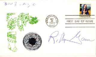 RITA GAM - FIRST DAY COVER SIGNED