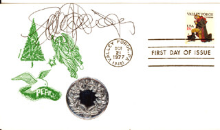 POLLY HOLLIDAY - FIRST DAY COVER SIGNED