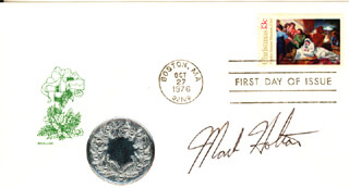 MARK HOLTON - FIRST DAY COVER SIGNED