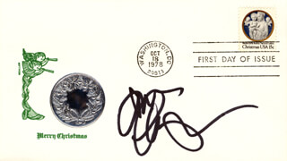 GINA HIRAIZUMI - FIRST DAY COVER SIGNED