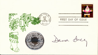 DANA IVEY - FIRST DAY COVER SIGNED