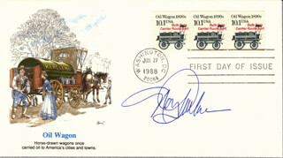 NANCY MALONE - FIRST DAY COVER SIGNED