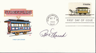 RON MASAK - FIRST DAY COVER SIGNED
