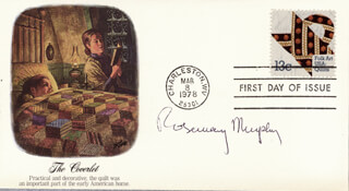 ROSEMARY MURPHY - FIRST DAY COVER SIGNED