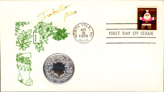 ISABELLA MIKO - FIRST DAY COVER SIGNED