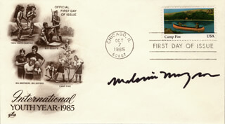 MELANIE MAYRON - FIRST DAY COVER SIGNED