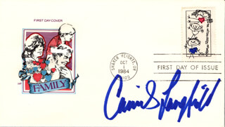 CAMILLE LANGFIELD - FIRST DAY COVER SIGNED